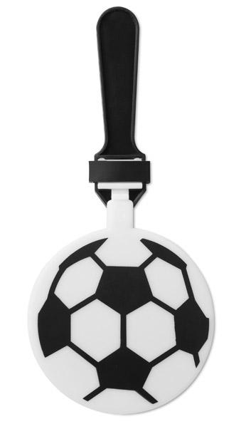 Klepačka pro fandy, tvar fotbalového míče